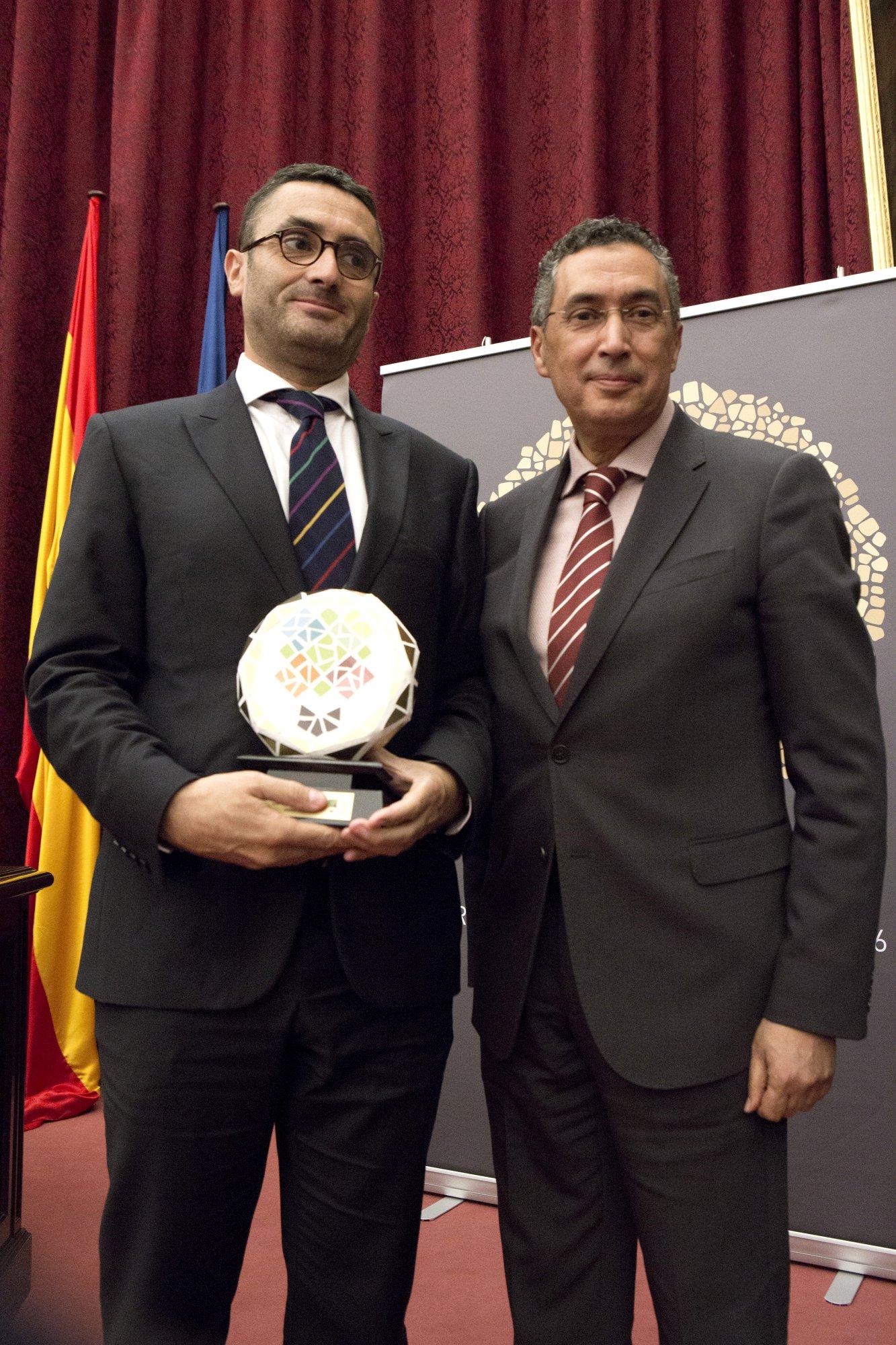 Eng. Anwar El Mezwaghi and Mr. Jesús Cuadrado from Effergy Energía.
