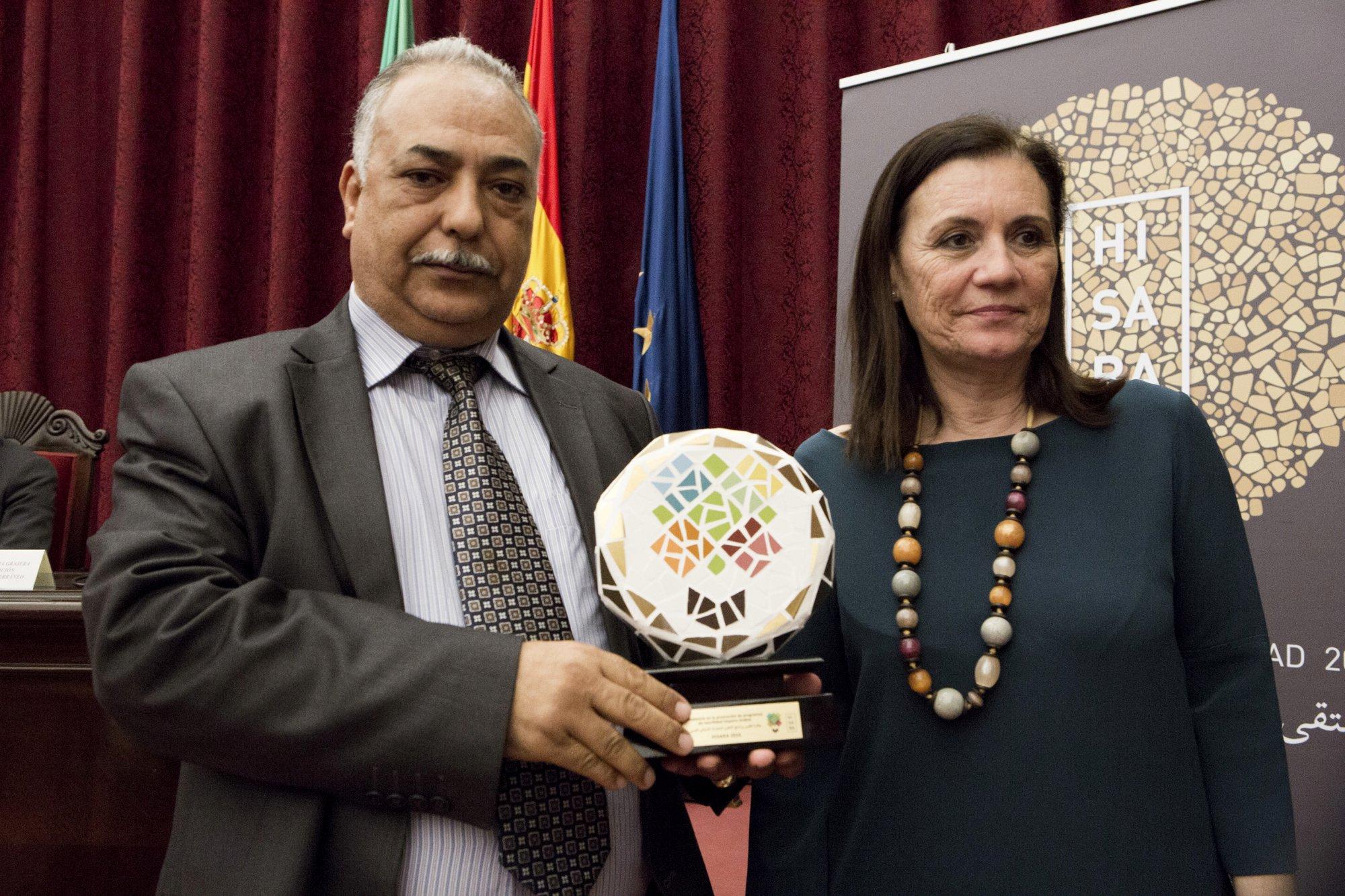 Mr. Hadoud from Alzytoona University in Libya and Ms. Rafela Caballero from Universidad de Sevilla
