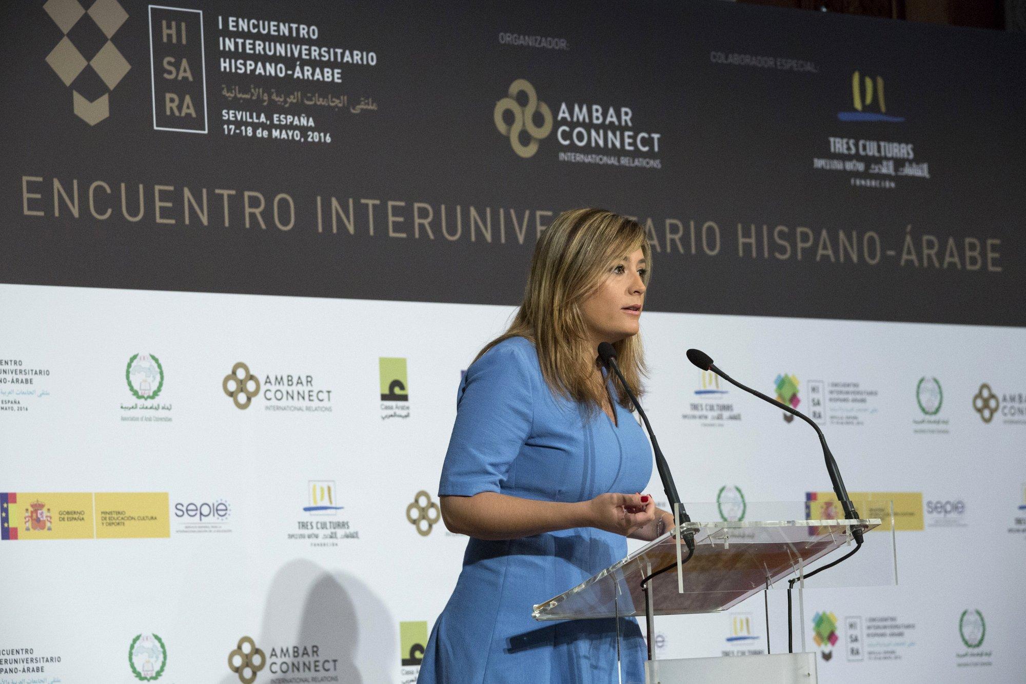 Ms. Myriam Díaz from Sevilla Municipality.