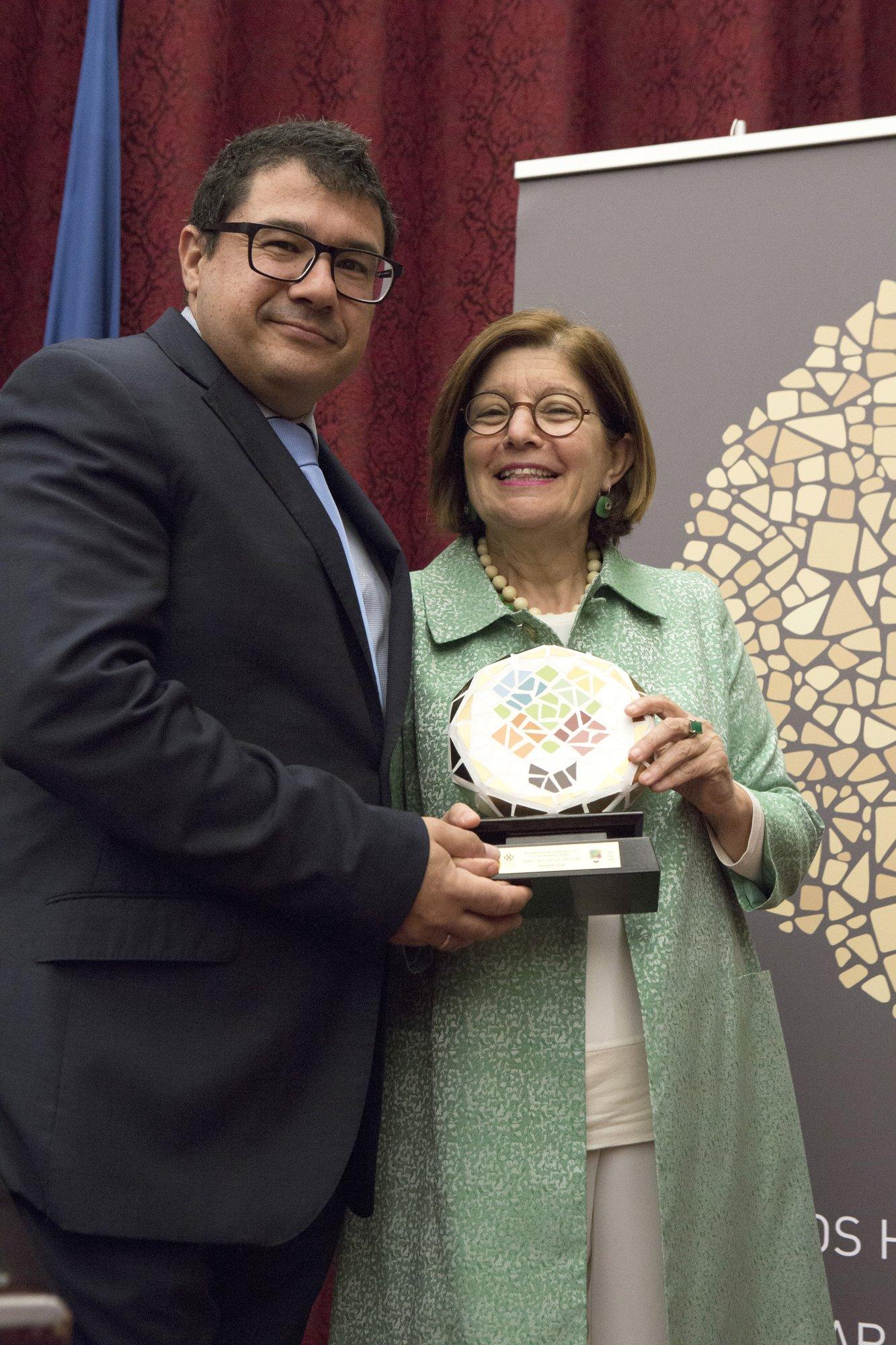 Ms. Rosario Berriel and Mr. Anastasio Argüello from Universidad de Las Palmas de Gran Canaria